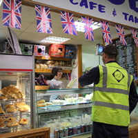 Photo of Market Stall Daddy's Cafe