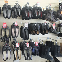 Photo of Market Stall Discount footwear